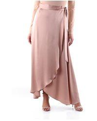 Maliparmi Jg358850123 Long skirt - Neutro
