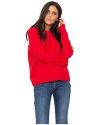 Maison Scotch Wool / Alpaca Sweater - Rood