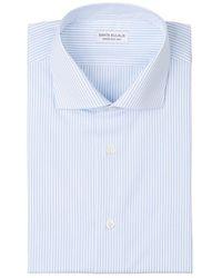 Santa Eulalia Striped Cotton Shirt - Bleu