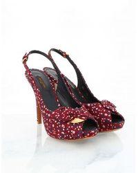 Louis Vuitton Escarpins - Rood