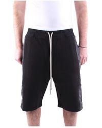 Rick Owens Du20f1383fnd Bermuda Shorts - Zwart