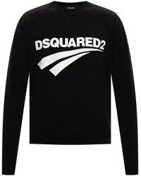 DSquared² - Sweatshirt Met Logo - Lyst