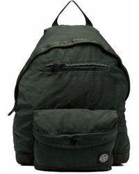 Stone Island Logo Backpack - Groen