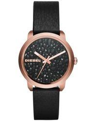 DIESEL Time Frames Dz5520 Watch Women Bronze - Bruin