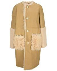 Marni Coat Cpmx0139bqulm081 - Naturel