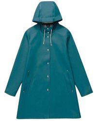 Stutterheim Raincoat Stockholm - Blauw