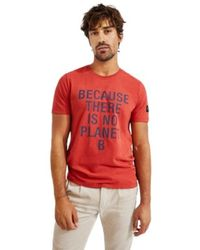 Ecoalf Camiseta Natal Because Rojo