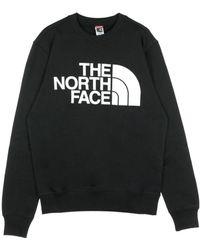 The North Face - Felpa Girocollo Standard Crew - Lyst