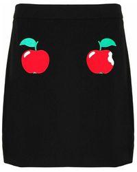 Boutique Moschino J01028242555 Polyester Skirt - Zwart