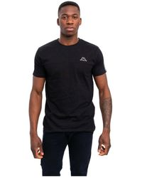 Kappa T-shirt - Zwart