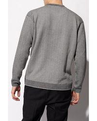 Giorgio Armani Wool sweater Gris