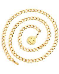 Chanel Vintage Chain Belt - Jaune