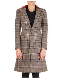 Neil Barrett Wool coat - Marrone