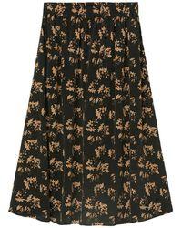 Marc O'polo Maxi Skirt - Zwart