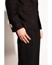 Versace Appliquéd ring Amarillo