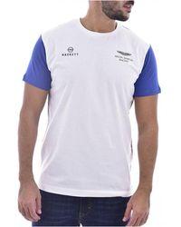 Hackett - T-shirt - Lyst