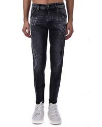 PT Torino Jeans 5 Tasche Tapered - Noir