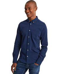 Denham Bridge Shirt Medieval - Blauw