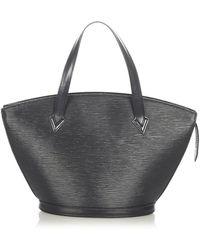 Louis Vuitton Epi Saint Jacques PM Bracelet Court Cuir - Noir