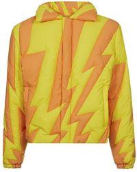 ERL Puffer jacket - Naranja