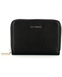 Coccinelle - Portafoglio Medio Metallic Soft Zip Around - Lyst