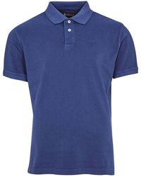 Barbour Washed Sports Polo - Blauw