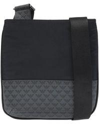 Emporio Armani Logo Shoulder Bag - Zwart