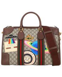 Gucci Pre-owned Sac de voyage - Marrone