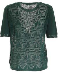 Ballantyne T-Shirt Punto Pizzo - Vert