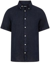 J.Lindeberg - Slim Shirt - Lyst