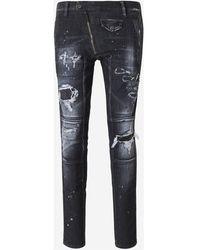 DSquared² Jeans Twinky Biker - Gris