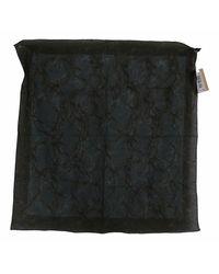 John Galliano Bandana patterned foulard scarf - Negro