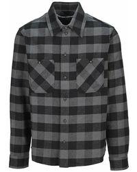 Off-White c/o Virgil Abloh Shirt Omga133f21fab001 - Grijs