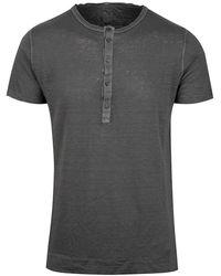 120% Lino T-shirt - Grau