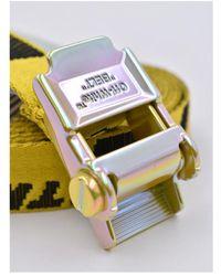 Off-White c/o Virgil Abloh Industrial mini 2.0 belt Amarillo