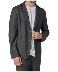Barena - Single-breasted Herringbone Jacket - Lyst