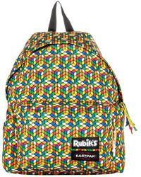 Eastpak Padded Pak'r Rubik's Backpack - Geel