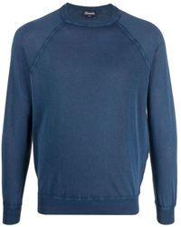 Drumohr Sweatshirt - Blauw