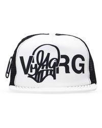 Off-White c/o Virgil Abloh Baseball Cap - Wit