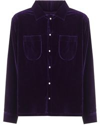 ERL Shirt Woven - Paars