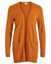 Vila Knit Cardigan - Oranje