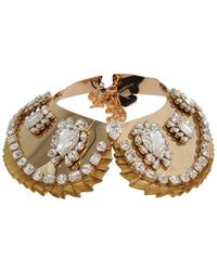 Dolce & Gabbana Necklace Collar - Jaune