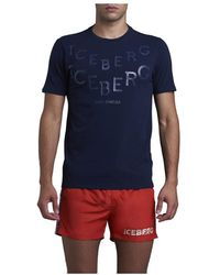 Iceberg T-Shirt - Bleu
