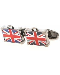 Paul Smith Flag Suitcase Cufflinks - Blauw