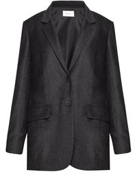 The Row Wool Blazer - Grijs