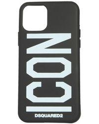 DSquared² Cover iphone 11 pro icon - Nero