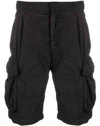 Off-White c/o Virgil Abloh Ow Logo Utility Shorts - Zwart
