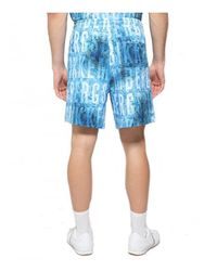 Bikkembergs Pantalón Corto Azul