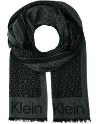 Calvin Klein K50k507438 Scarf - Zwart