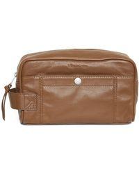 Matíníque Keepin Washbag Leather - Bruin